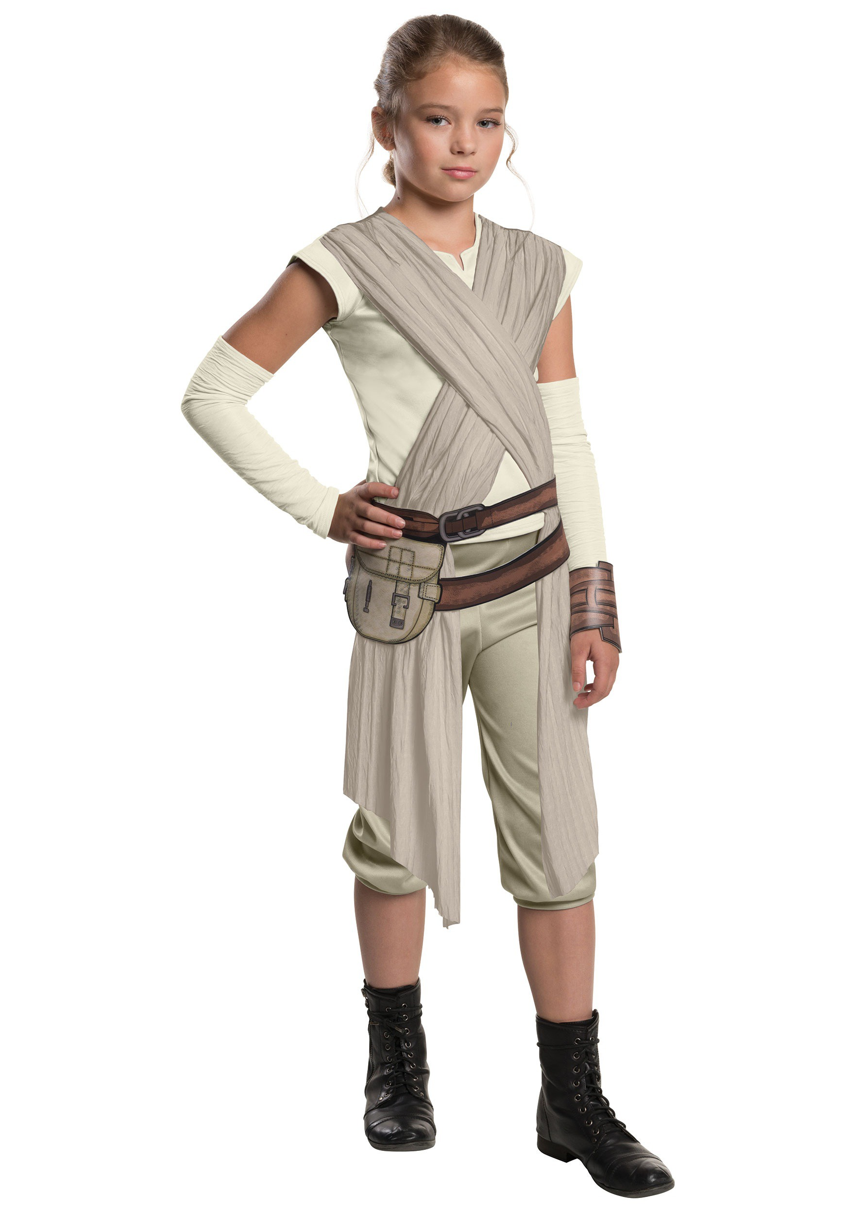Halloween Movie Costumes movie characters hallowee Child Deluxe Star Wars Ep 7 Rey Costume