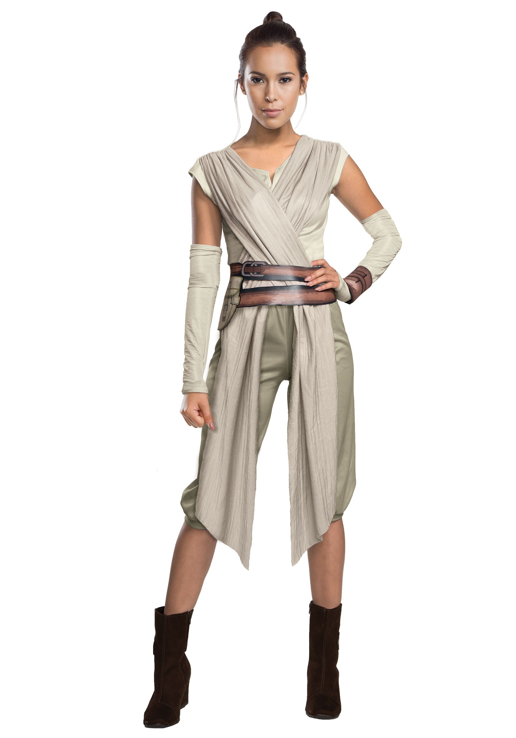 adult deluxe star wars the force awakens rey costume. Black Bedroom Furniture Sets. Home Design Ideas