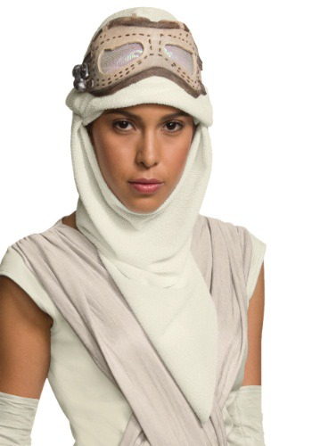 Adult Star Wars The Force Awakens Rey Eye Mask w/ Hood
