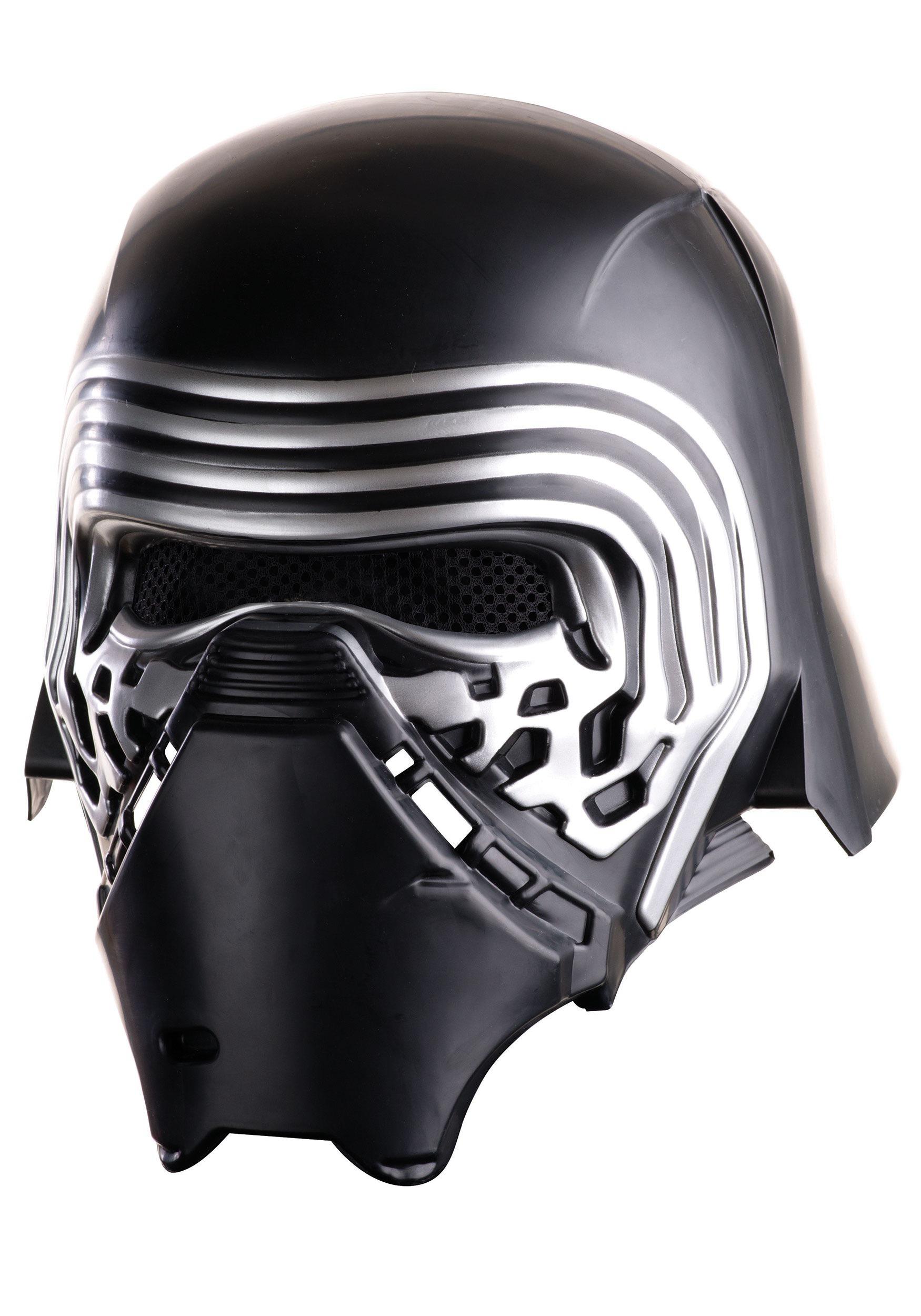 adult star wars ep 7 deluxe kylo ren helmet. Black Bedroom Furniture Sets. Home Design Ideas