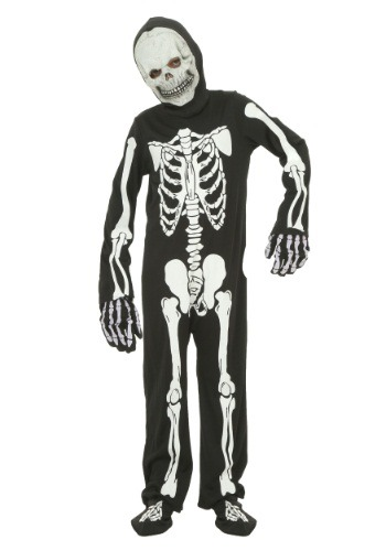 Child Skeleton Costume FUN6052CH-L