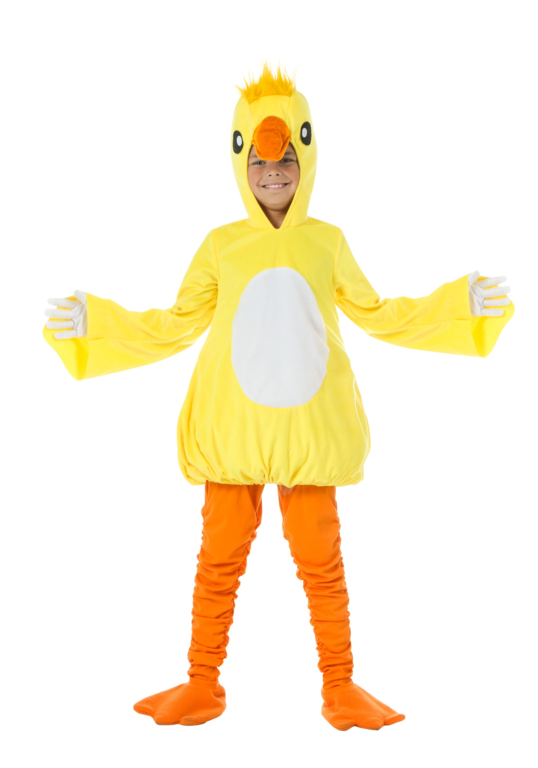 Bright Yellow Duck Costumes For Kids