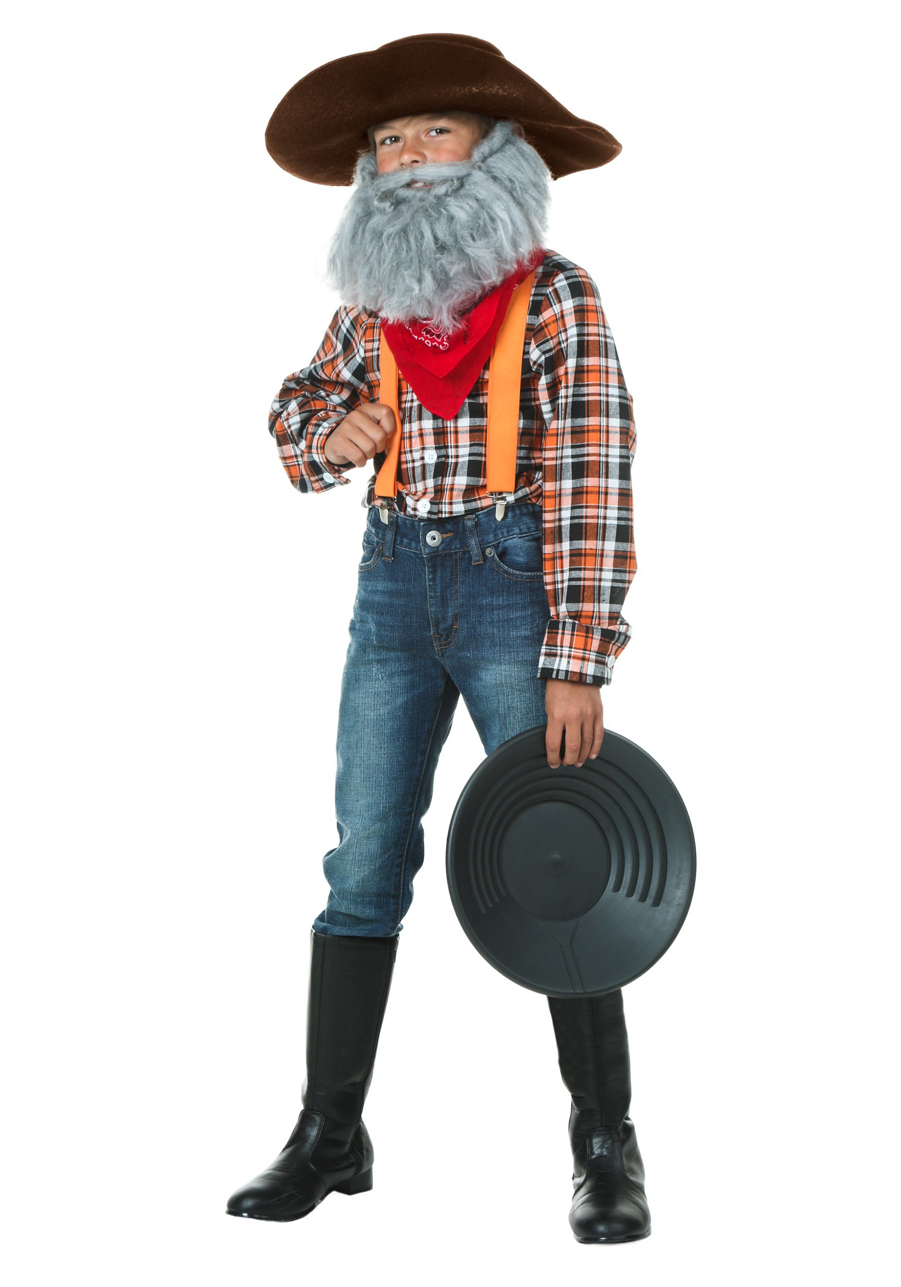 Boy/'s Prospector Costume Kit