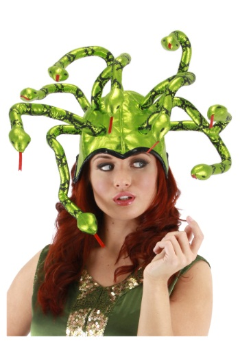 Medusa Hat - Greek Halloween Costume Accessory
