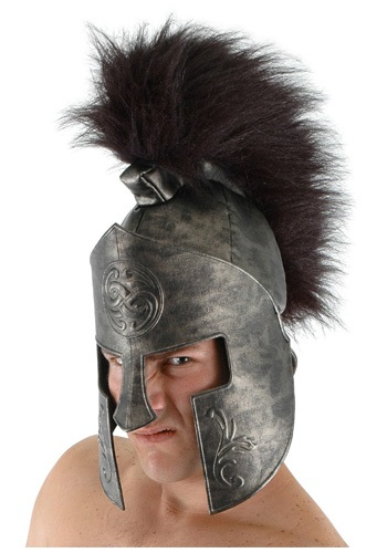 Adult Spartan Helmet By: Elope for the 2015 Costume season.
