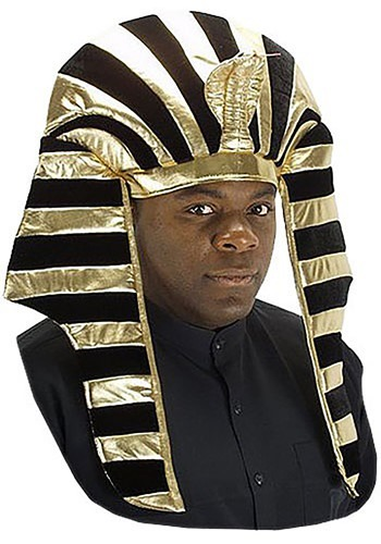Deluxe King Tut Headpiece By: Elope for the 2015 Costume season.