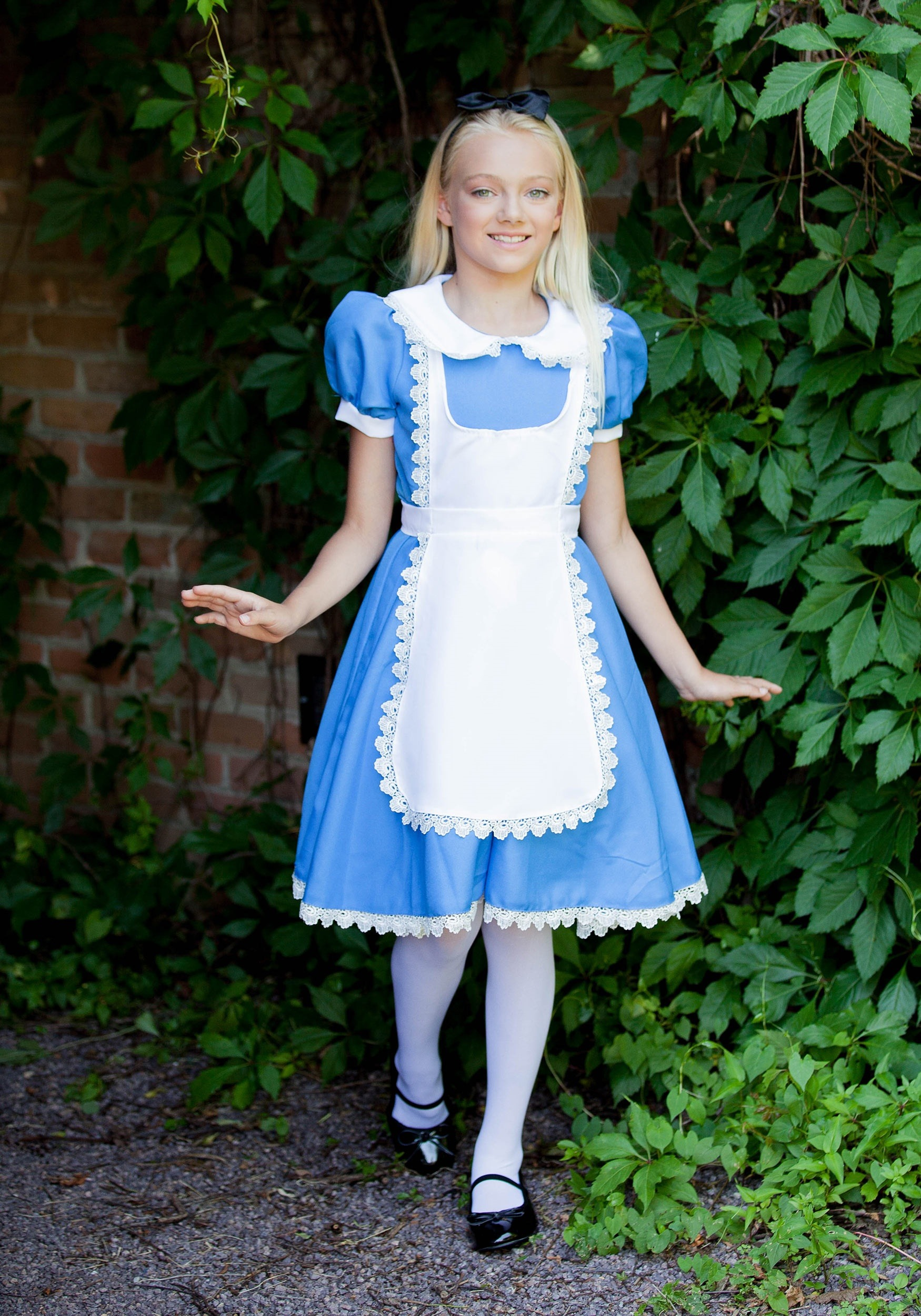 Supreme Alice Costume For Girls-8647
