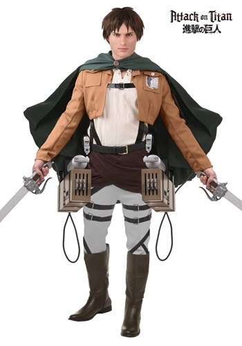 Deluxe Attack on Titan Eren Jaeger Costume 1