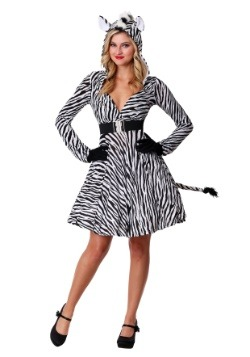 Women's Zebra Costume1