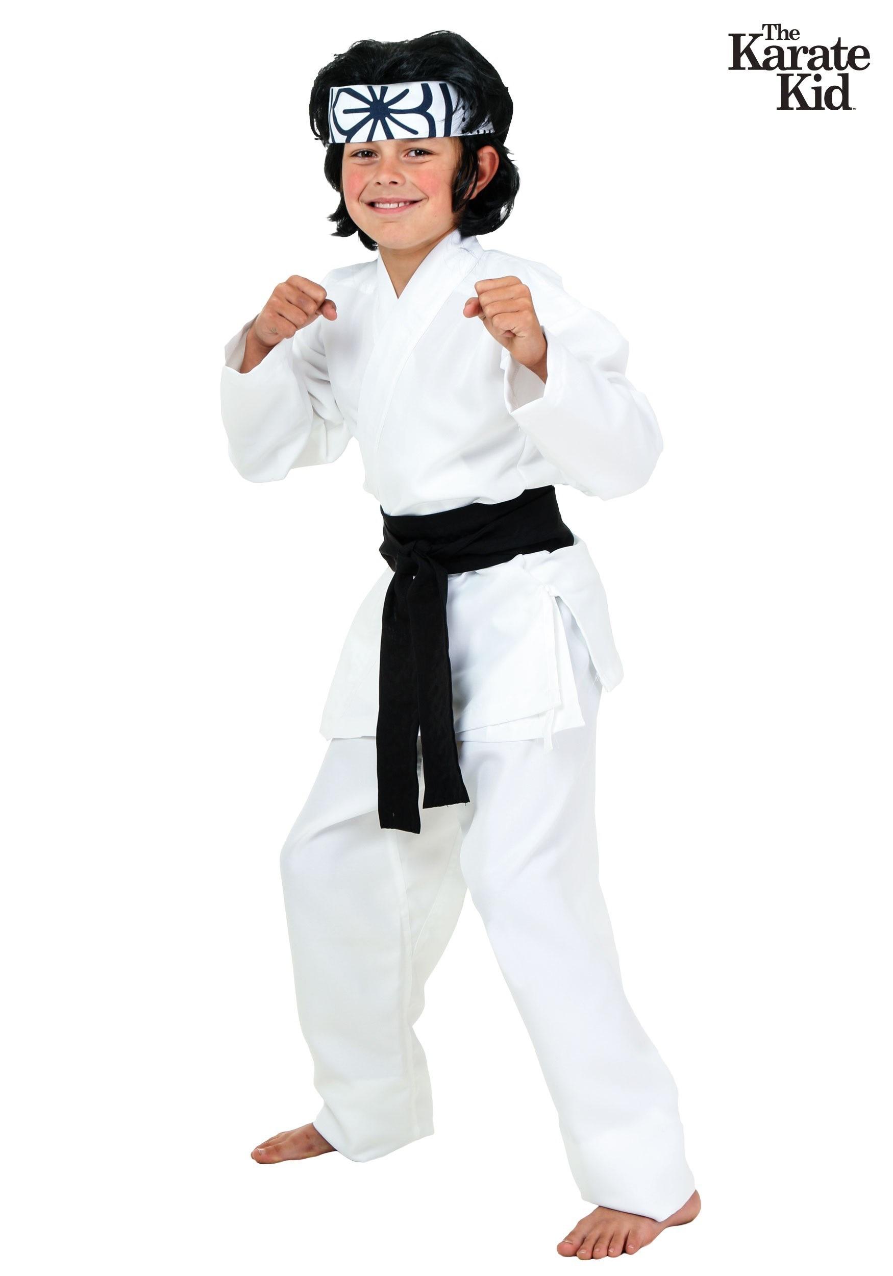 Karate Kid Halloween Costume.Child Daniel San Costume