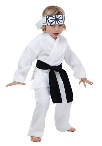 Click Here to buy Toddler Daniel San Costume from HalloweenCostumes, CDN Funds