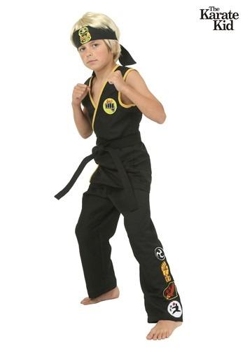 Child Cobra Kai Costume