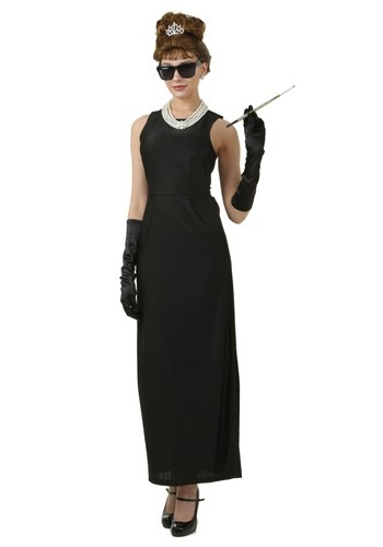 Adult Breakfast at Tiffanys Holly Golightly Costume
