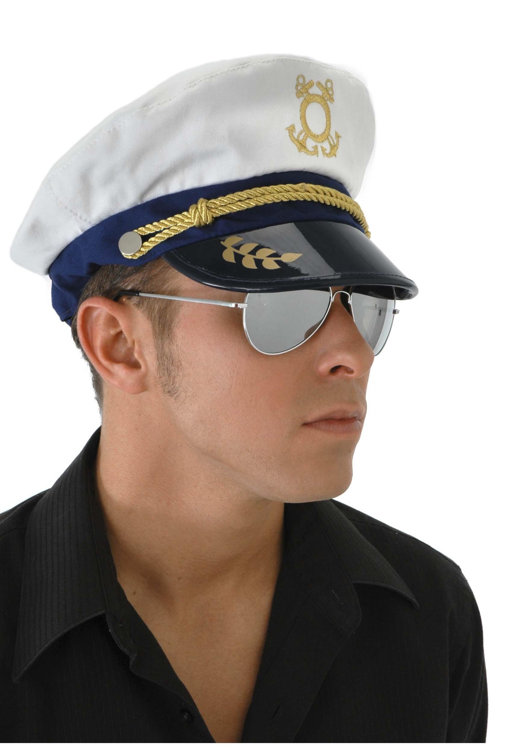 Mens Sailor Captain Hat2 1c7e80bda5