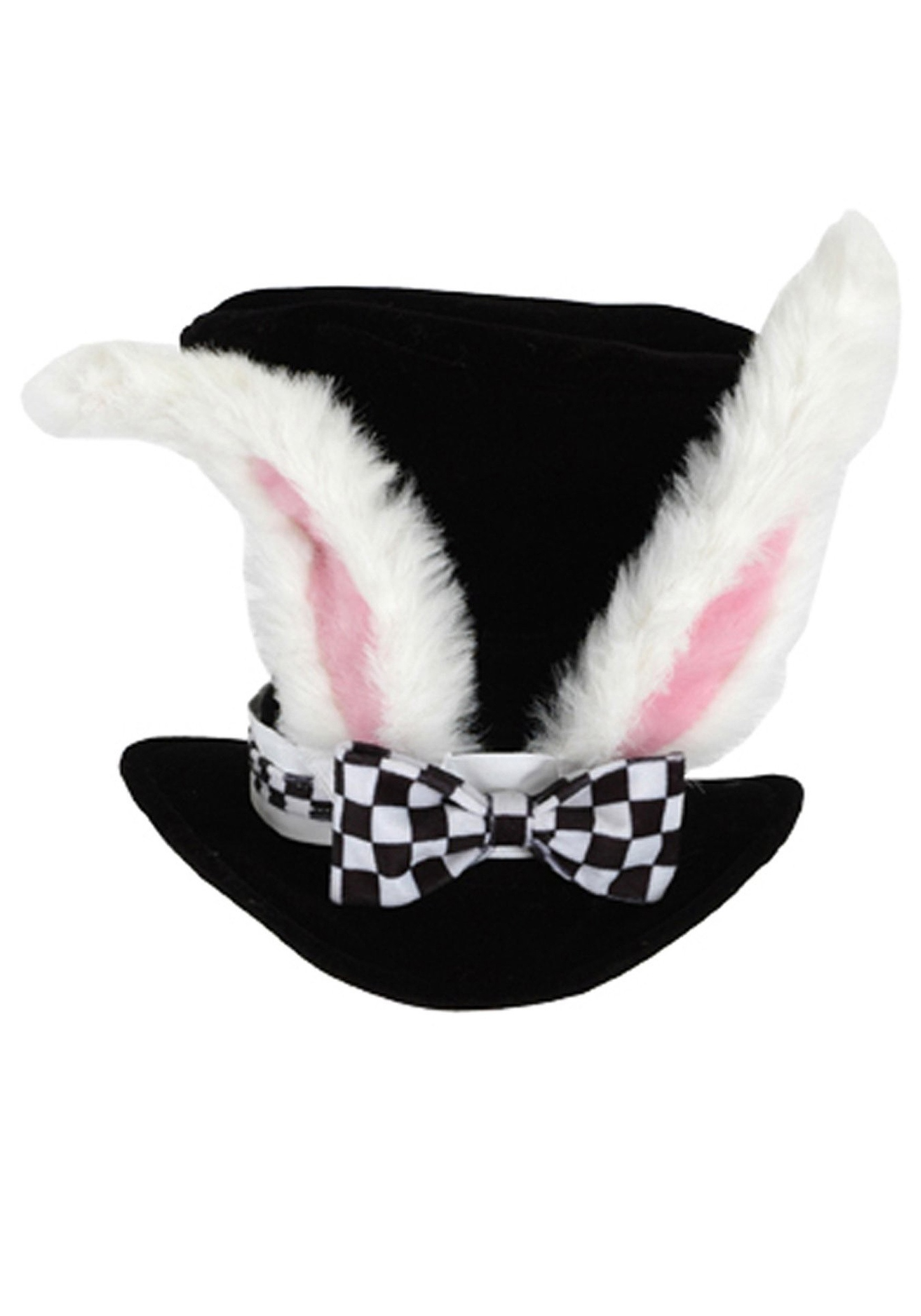 March Hare Alice In Wonderland Easter Bunny Rabbit Men Costume Ears Hat
