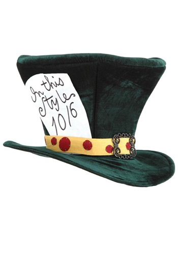 Click Here to buy Mad Hatter Adult Hat from HalloweenCostumes, USA Funds & Shipping