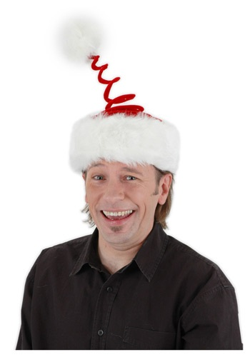 Springy Santa Hat By: Elope for the 2015 Costume season.