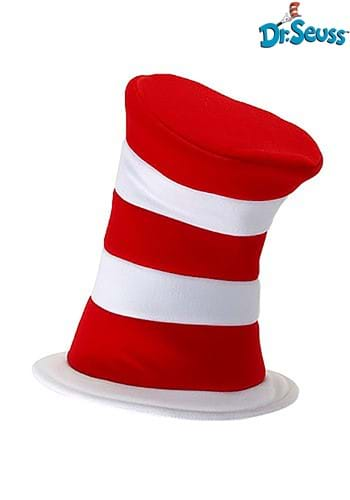 Deluxe Dr. Seuss Cat in the Hat Plush Velboa Hat 1
