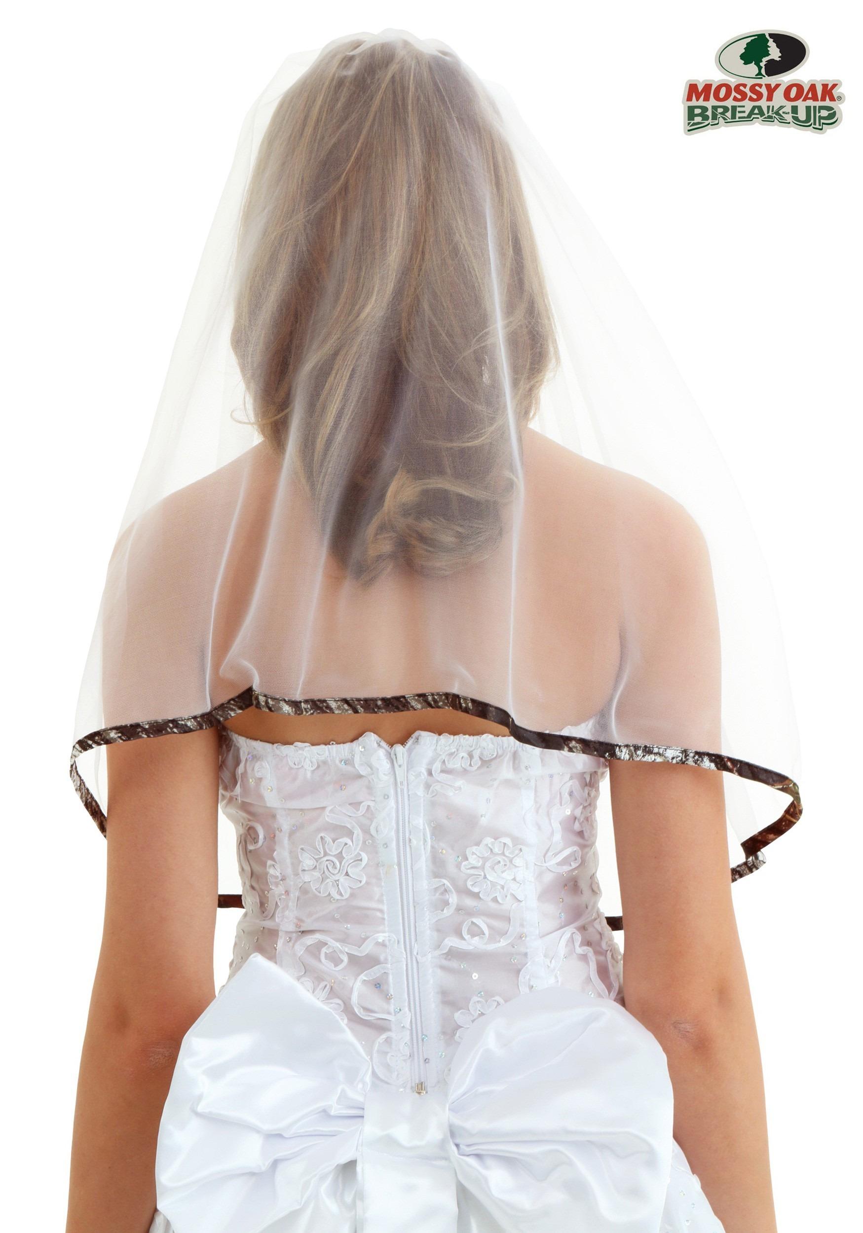 Mossy Oak Camo Bridal Veil
