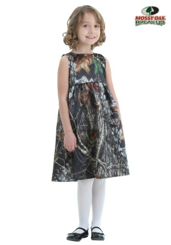 Toddler Mossy Oak Camo Flower Girl Dress