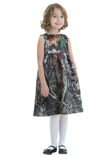 Toddler Mossy Oak Flower Girl Dress Costume
