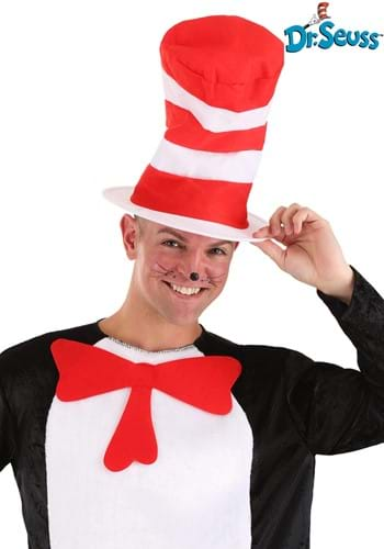 Click Here to buy Cat in the Hat Adult Hat from HalloweenCostumes, USA Funds & Shipping