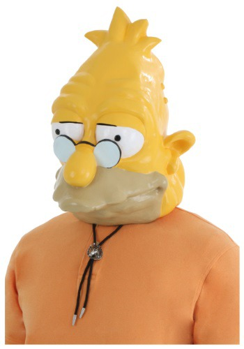 Click Here to buy Grandpa Simpson Mask from HalloweenCostumes, USA Funds & Shipping