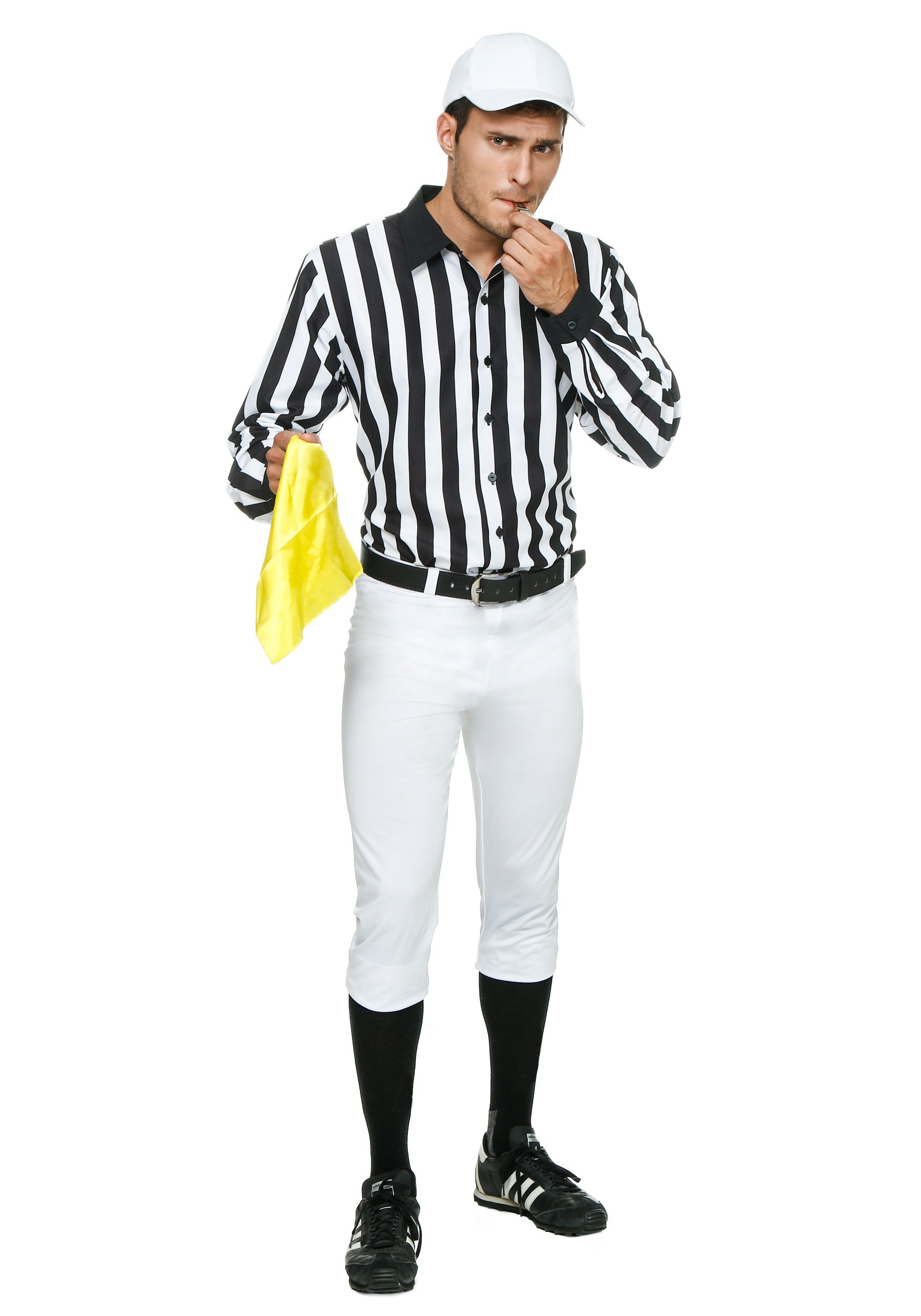 Adult Referee Costume  sc 1 st  Halloween Costumes & Referee Costumes u0026 Sexy Referee Outfits - HalloweenCostumes.com