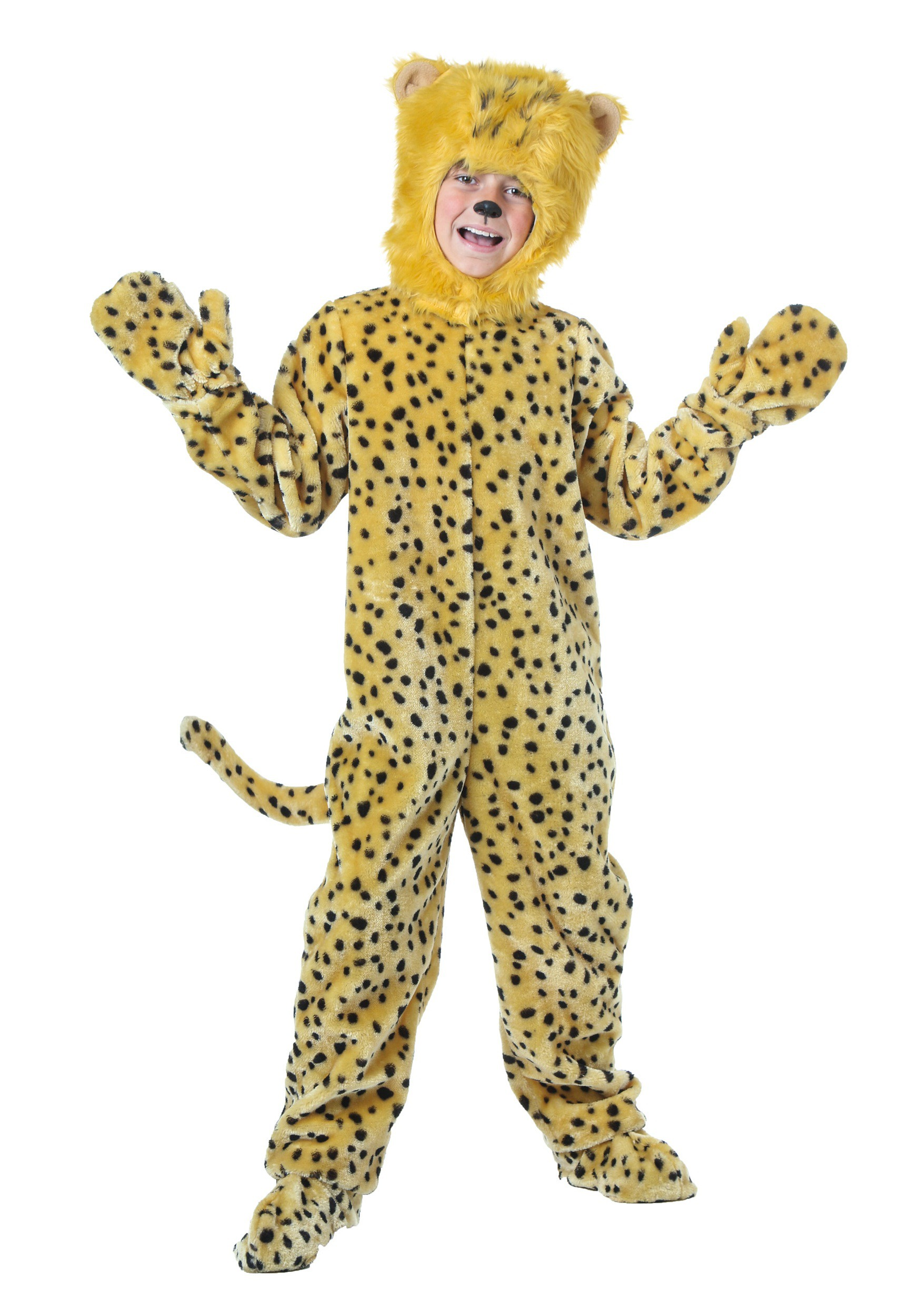 sc 1 st  Halloween Costumes & Child Cheetah Costume