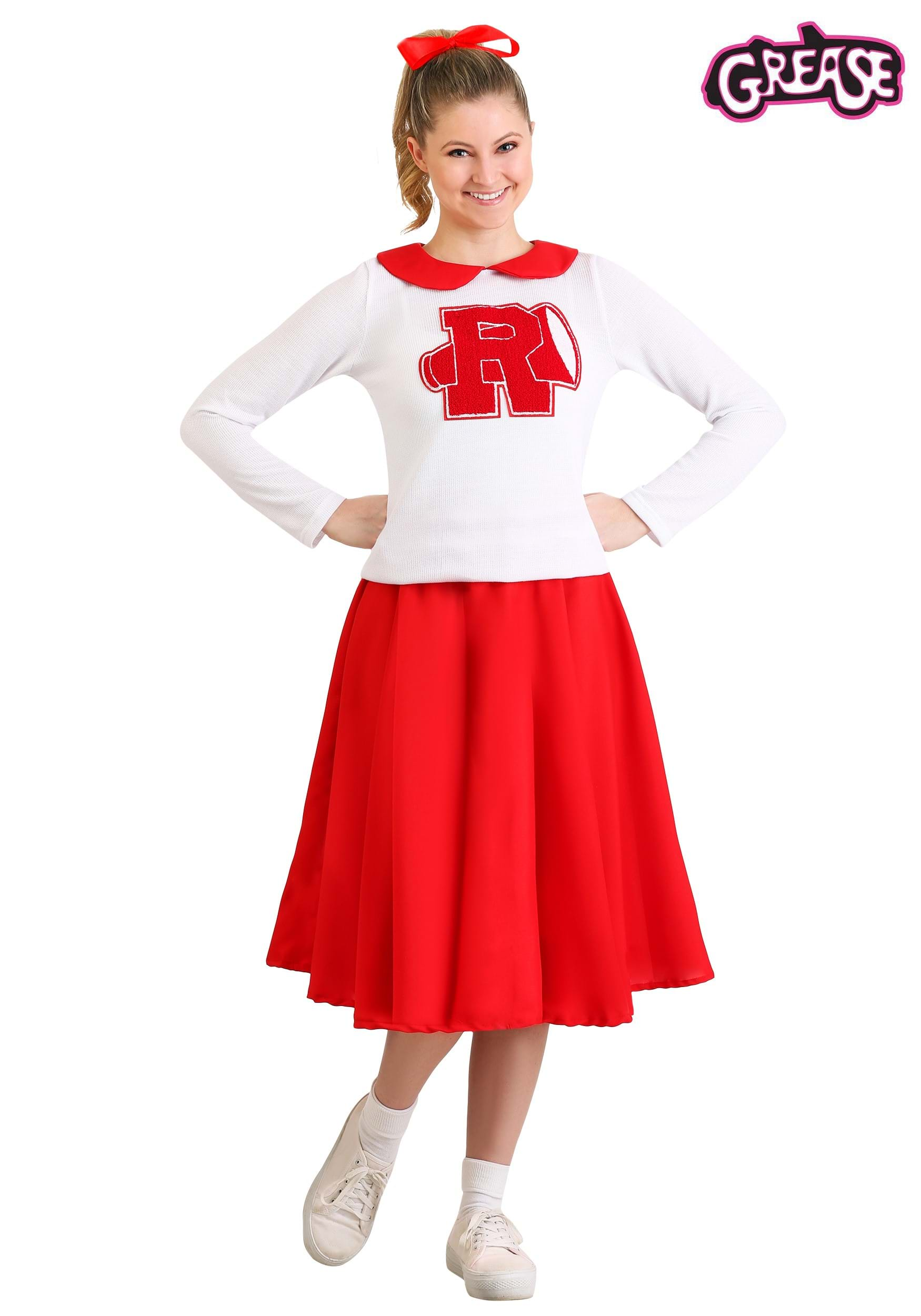 womens grease rydell high cheerleader costume - Greece Halloween Costumes