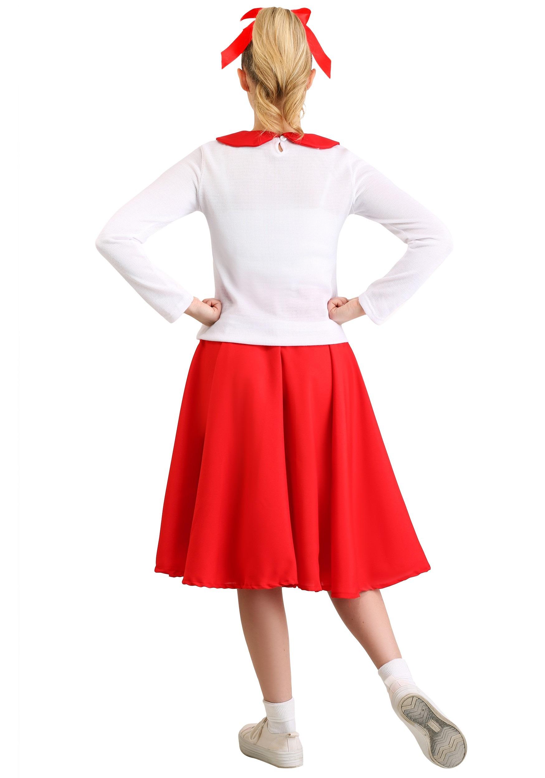 102e5f7842b Women s Grease Rydell High Cheerleader Costume