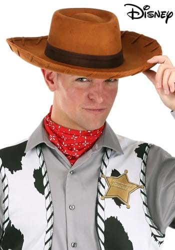 Adult Deluxe Woody Cowboy Hat. Product Description. Your Toy Story costume ...