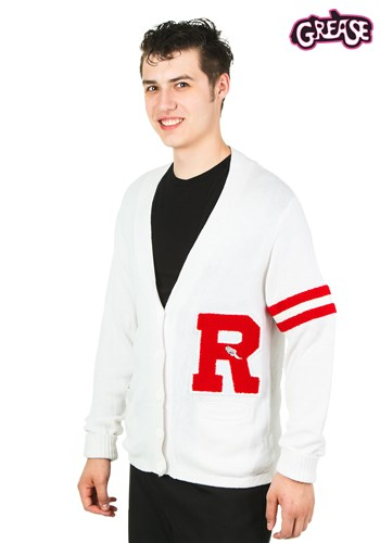 Grease Rydell High Men's Letter Sweater Costume 1