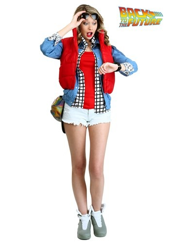 Womens Adult Marty McFly Costume