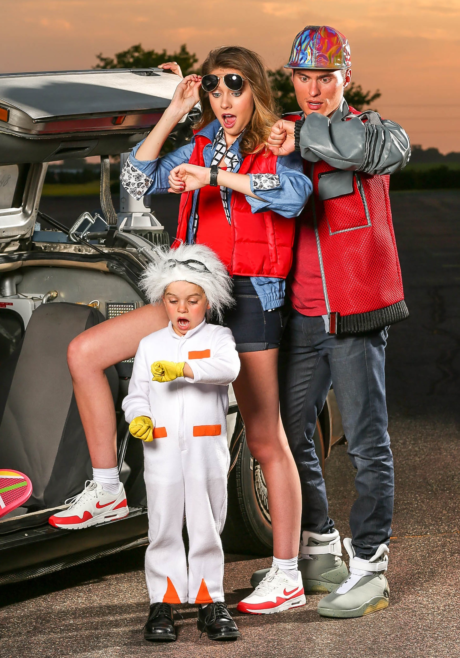 womens marty mcfly costume