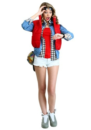 Click Here to buy Womens Marty McFly Costume from HalloweenCostumes, USA Funds & Shipping