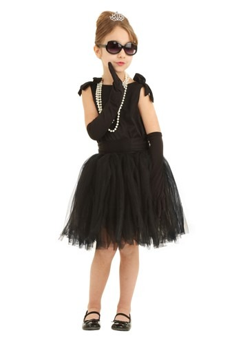 Child Breakfast at Tiffanys Holly Golightly Costume