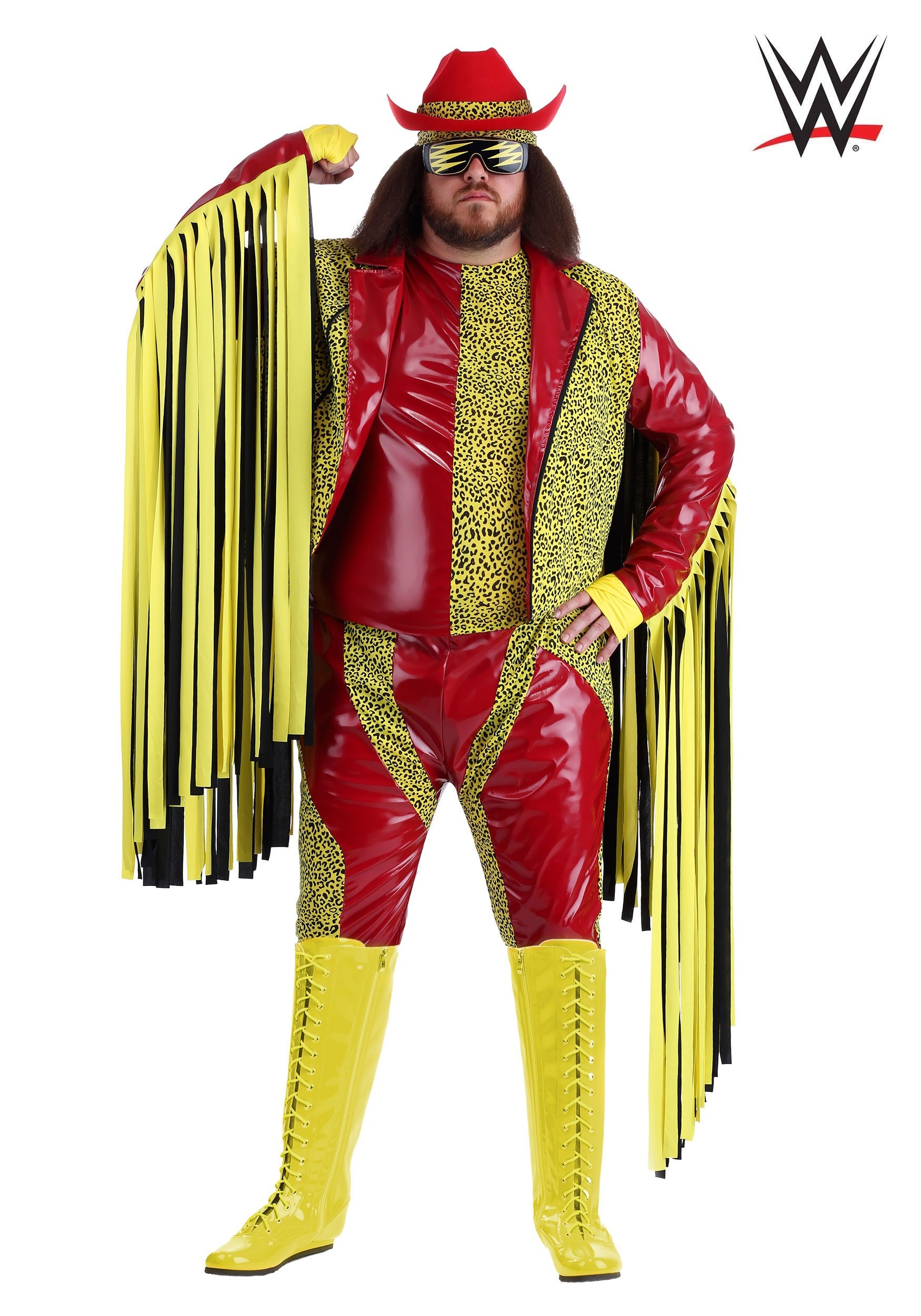 Plus size macho man randy savage costume 2x 3x 4x plus size macho man randy savage costume solutioingenieria Gallery