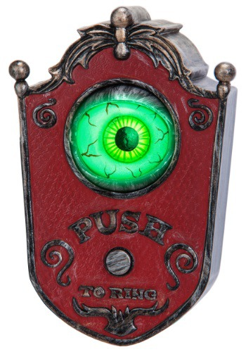 Click Here to buy Animated Doorbell Eyeball from HalloweenCostumes, USA Funds & Shipping