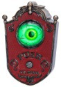 Animated Doorbell Eyeball - Door Decorations Halloween Decorations