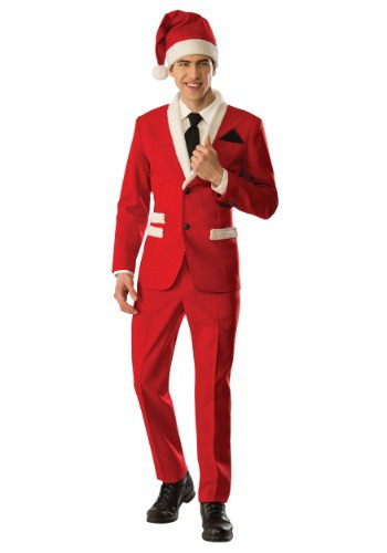 Click Here to buy Mens Christmas Santa Suit from HalloweenCostumes, USA Funds & Shipping