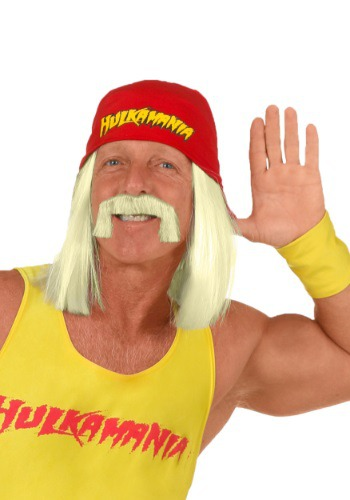 Click Here to buy Hulk Hogan Wig from HalloweenCostumes, USA Funds & Shipping