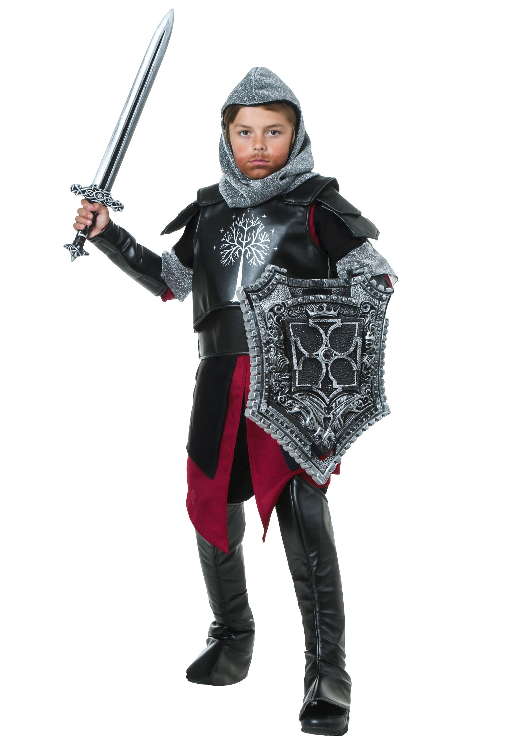 Adult costume halloween knight