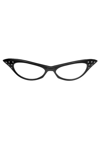 Click Here to buy 50s Black Frame Glasses from HalloweenCostumes, USA Funds & Shipping