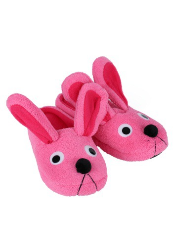 A Christmas Story Pink Bunny Slippers