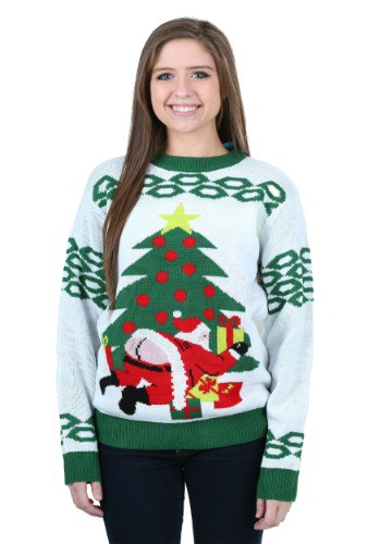 Image of Butt Crack Santa Ugly Christmas Sweater