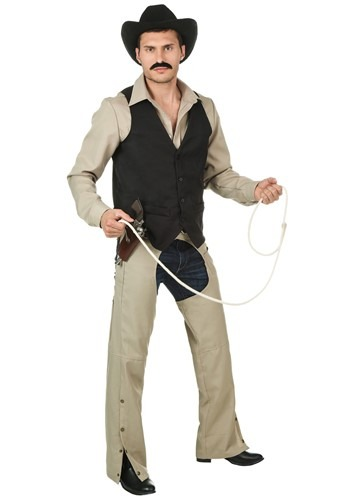 Click Here to buy Plus Size Village People Cowboy Costume from HalloweenCostumes, USA Funds & Shipping
