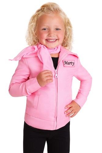 Toddler Authentic Pink Ladies Jacket Costume