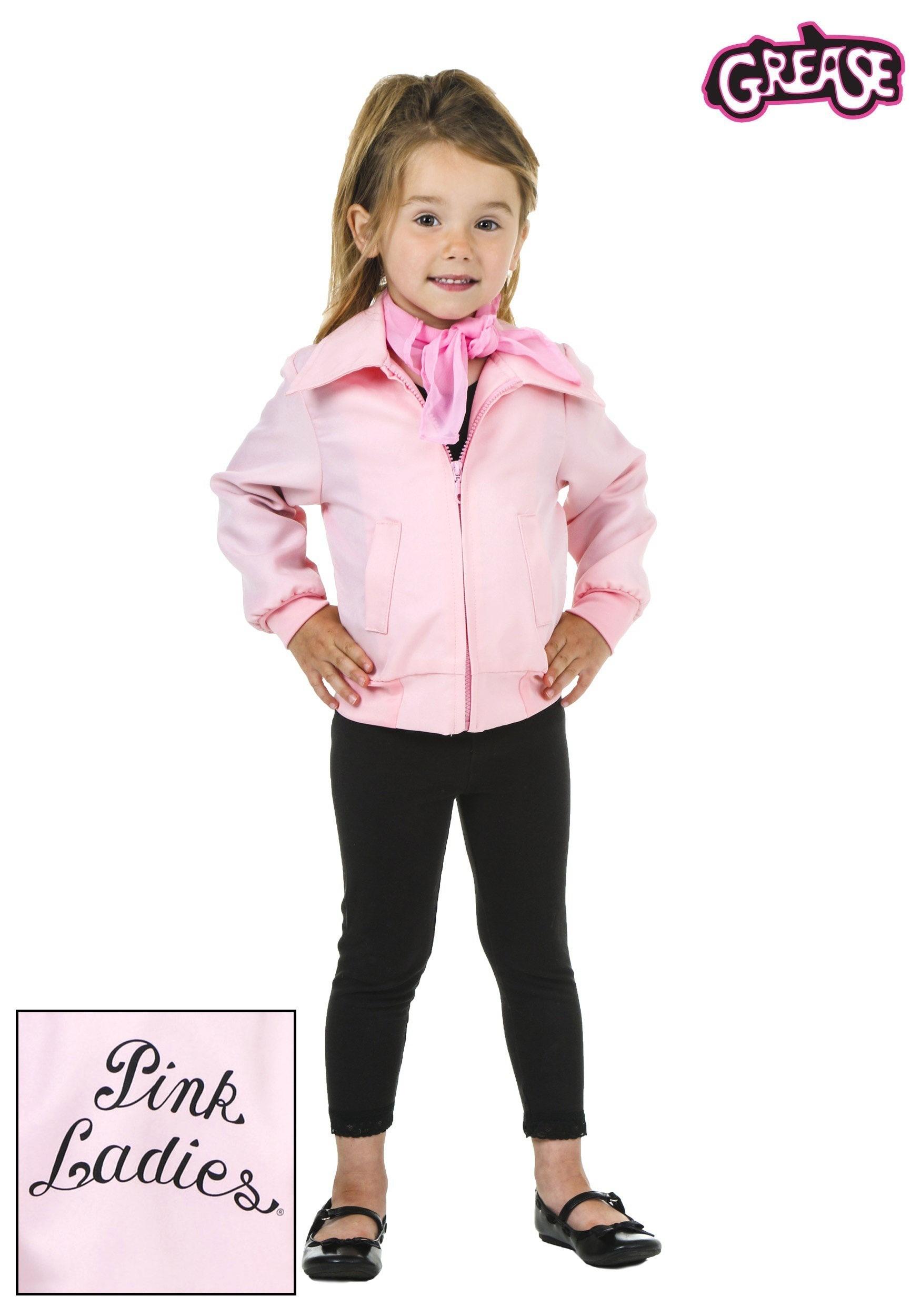Toddler Deluxe Pink Ladies Jacket