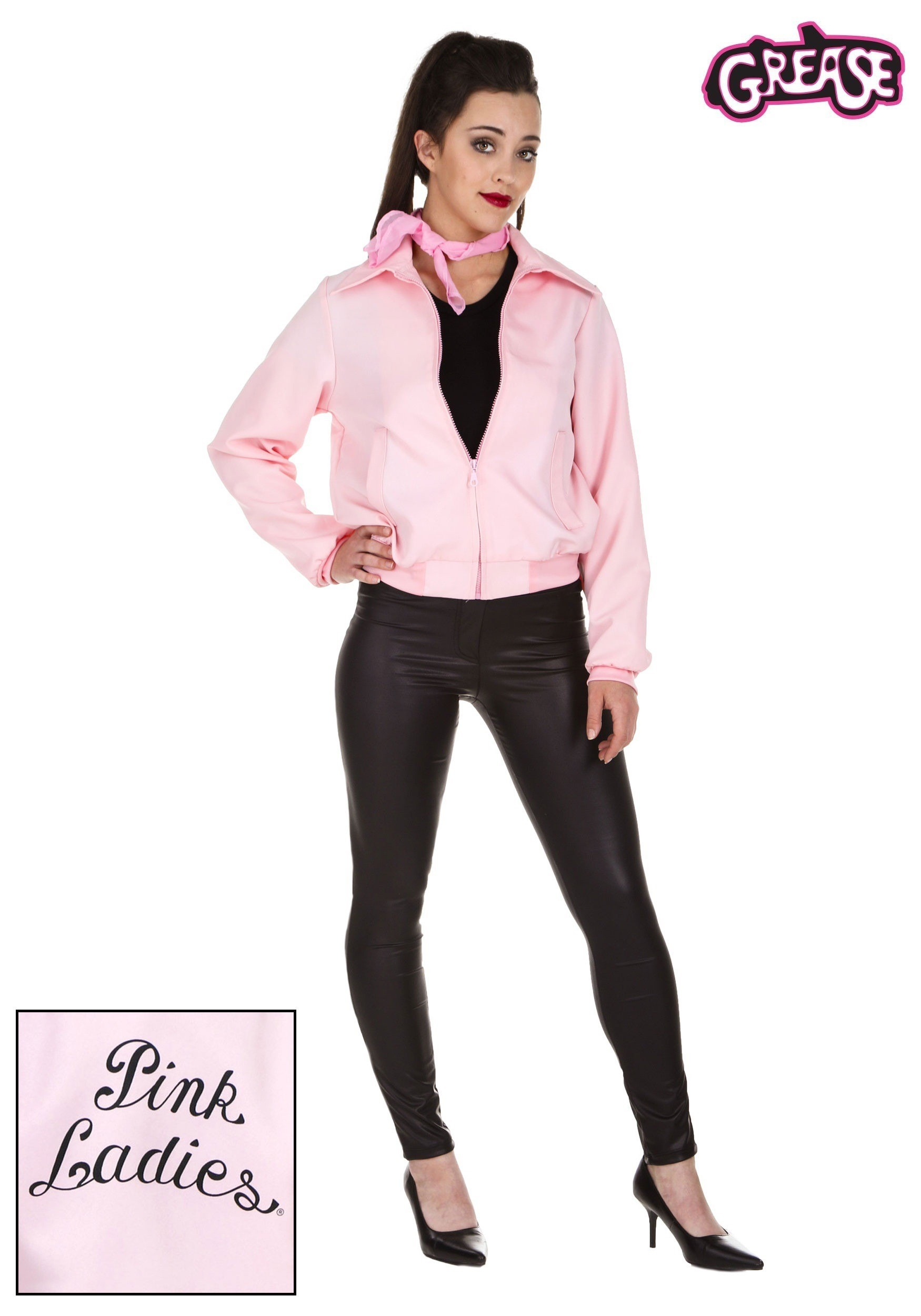 Pics Photos - Plus Size Pink Ladies Jacket Black